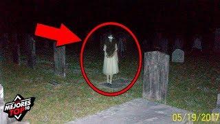 5 Fantasmas y Eventos Paranormales Captados En Camara (Video) - Los mejores Top 10