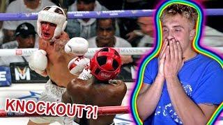 REACTING TO JAKE PAUL VS. DEJI!! (FULL FIGHT)