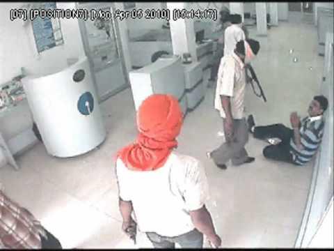 Live Bank Robbery in Chandigarh Road, Ludhiana, Punjab