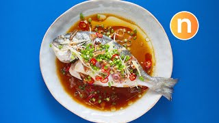 Steamed Fish [Nyonya Cooking]