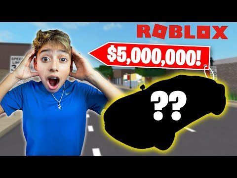 BUYING The MOST EXPENSIVE CAR in ROBLOX 5 000 000 SuperCar Royalty Gaming