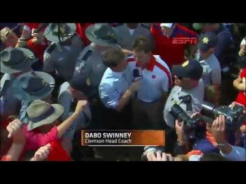 Clemson coach Dabo Swinney got an extra kick out of ending No. 21 Auburn s 17 game winning streak