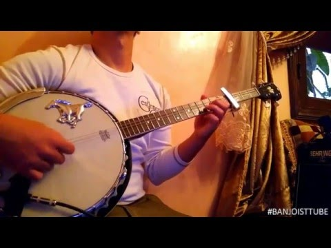 Banjo Rhythms 17 ايقاعات البانجو حميد انرزاف غار سير اوينو Hamid inerzaf ghar sir awino