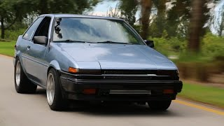 880HP Toyota AE86 from HELL!