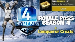 🔥Buying Elite Royale Pass Season 4 | Opening Conqueror Crate S3 | red [pubg mobile]