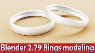 blender 2 79 rings modeling