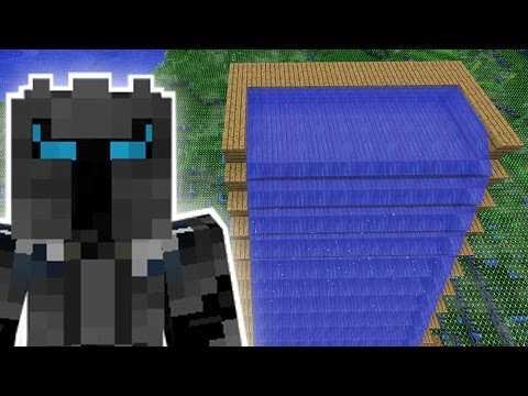 Minecraft THE EPIC WATER SLIDE MISSION Custom Mod Challenge S8E43