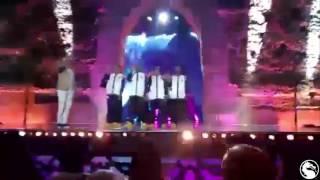 بالفيديو..الفكاهي إيكو بشكل ساخر يقلد أغنية الجريني « جابرافان » في مهرجان الضحك بمراكش إيكوإيكو