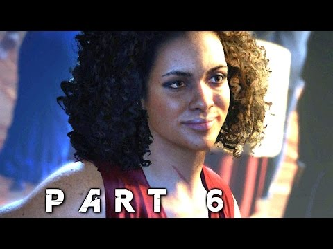 Uncharted 4 A Thief's End Walkthrough Gameplay Part 6 - Nadine (PS4)
