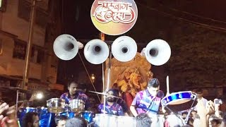 Lalbaug Beats at Dombivli for Ganpati Aagman Sohala 2016 - Lalbaug Beats Banjo Party