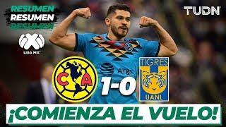 Resumen y Goles   América 1 - 0 Tigres   Liga Mx - CL 2020 - J2   TUDN
