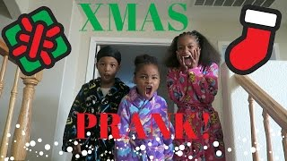 Merry Christmas PRANK On The Kids!!!