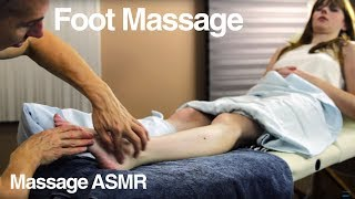 Foot massage for Women - ASMR relaxing Soft Spoken