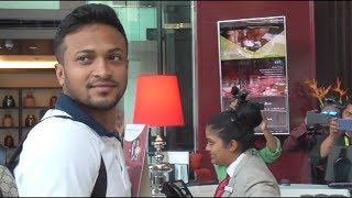 Nidahas Trophy: Shakib-Al-Hasan arrives in Colombo ahead of do or die tie against Lanka