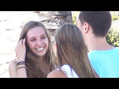 ASKING FOR THREESOMES SOCIAL EXPERIMENT