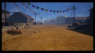 Making of simple village  3ds max Unreal Engine tutorial part - 1