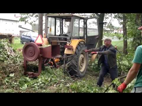 rębak rozdrabniacz do gałęzi wood chipper
