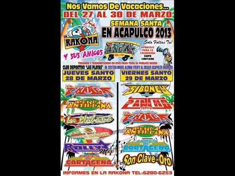 cumbia sampuesana cantada sonido siboney en acapulco 2013
