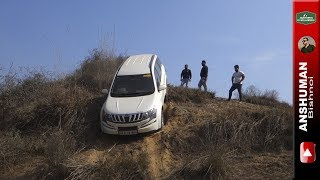 XUV-500 AWD, V-Cross, Thar CRDe MLD, Scorpio 4wd, Fortuner, Endeavour: Offroad Obstacle 2