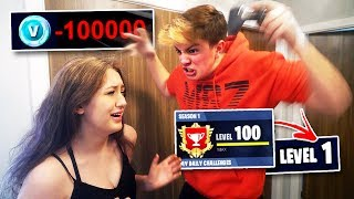 Girlfriend Deleted my $1000 FORNITE Account... [GONE TOO FAR]