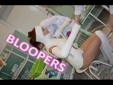 Bloopers and deleted scenes from Karen Minerva Plaster Cast
