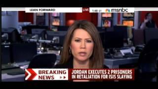 Sheera Frenkel on MSNBC on Jordanian reaction to ISIS killing of their pilot