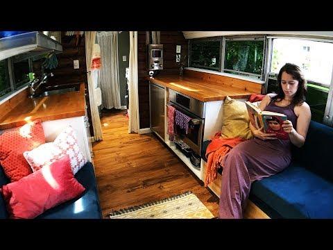 Tiny House School Bus Conversion New Tour