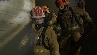 GTA 5 (PS4) - Mission #64 - The Bureau Raid (Fire Crew) [Gold Medal]