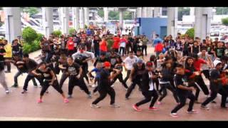 The Black Eyed Peas Flash Mob 2011 (Megamall) Part-1