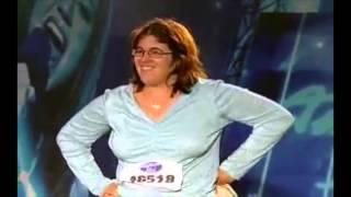 American Idol - Jacqueline Roman (Scat Girl) Audition