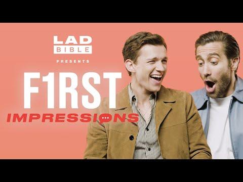 Tom Holland hates Jake Gyllenhaal s impression of him First Impressions