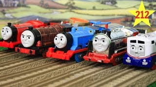 THOMAS AND FRIENDS THE GREAT RACE #212 Trackmaster Thomas Train|Thomas & Friends Toys