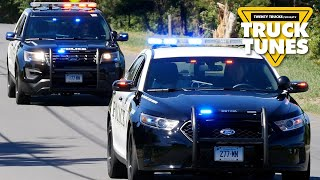 Police Car for Children | Kids Truck Video - Police Vehicles