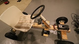 How To Build $15 Go Kart Steering with PVC pipes