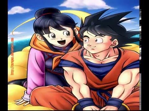 Goku and chichi