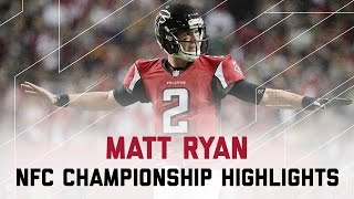 Matt Ryan Delivers for 392 Yards & 5 TDs!   Packers vs. Falcons   NFC Championship Player Highlights