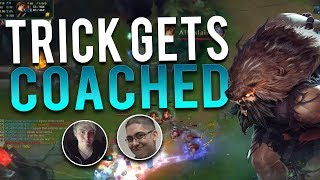 GETTING COACHED BY LS!! | AM I RANK 1 YET? - Trick2G