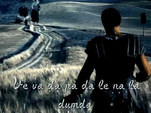 ♫ Soundtrack Gladiator Now We Are Free with lyric .flv