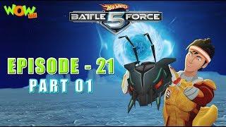 Motu Patlu presents Hot Wheels Battle Force 5 - Swarmed - Episode 21-P1- in Hindi