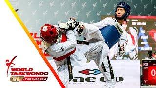 Taoyuan 2018 World Taekwondo GP-Final [female –49kg] Panipak WONGPATTANAKIT(THA) vs So-Hui KIM(KOR)