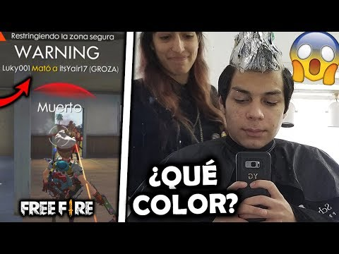 Xxx Mp4 ¡SI PIERDO En FREE FIRE ME TIÑO El CABELLO No Lo Creerás 3gp Sex