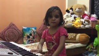 4 yrs Anika Singing Geruva Song | watch Till End | Indian Mom On Duty