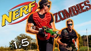 Nerf meets Call of Duty: ZOMBIES 1.5!