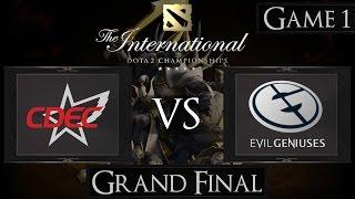 Dota 2 The International 2015 Grand Final CDEC vs EG