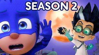 PJ Masks Full Episodes Season 2 LITTLE ROMEOS 🎃PJ Masks Halloween Special 🎃PJ Masks Official