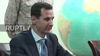 Syria: Assad expresses