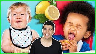 Babies Eating Lemons For The First Time! (Compilation)