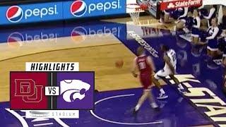 Denver vs. No. 12 Kansas State Basketball Highlights (2018-19)