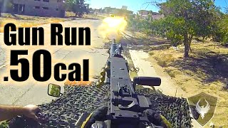 50cal  Gun Run at Milsim West - The Kazakh Offensive