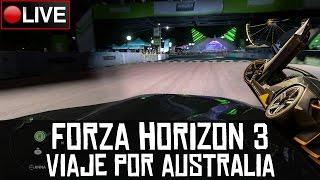Forza Horizon 3 || Viaje por Australia con el juego completo || LIVE